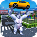 Gorilla Rampage: Angry Kong City Attack Icon