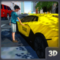 City Taxi Driver 2018: Car Driving Simulator Game Icon