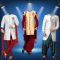 Man Traditional Photo Suit Icon