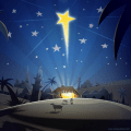 Happy Christmas and  New Year Icon