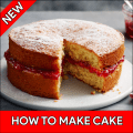 How to Make Cake – Guide for Make a Cake Icon