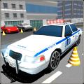 City Police Car Parking Sim 3D Icon