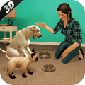 Virtual dog pet cat home adventure family pet game Icon