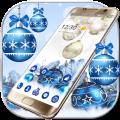 Happy Merry Christmas Theme Icon