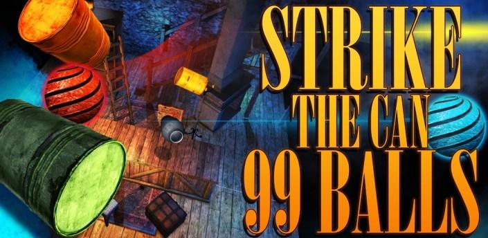 Strike the Can: 99 balls apk