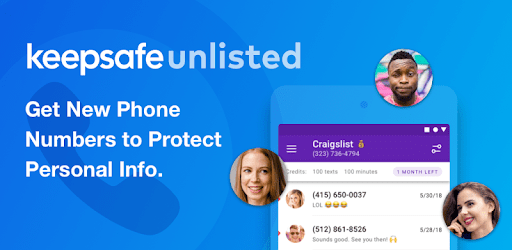 Keepsafe Unlisted - Second Phone Number apk