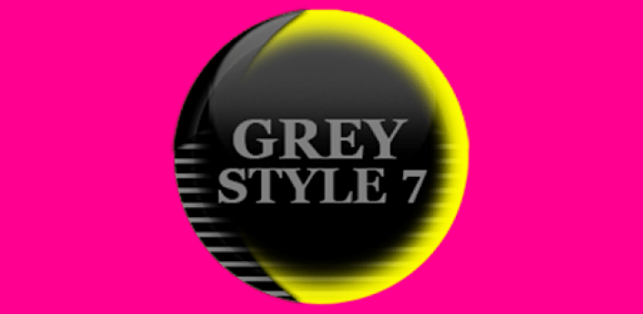 Grey Icon Pack Style 7 ✨Free✨ apk