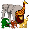 Learn Gujarati Wildlife and Body Parts Names Icon