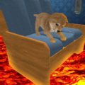 The Floor is Lava Cute Puppy Mania Icon