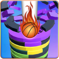 Helix stack Ball jump 3d: Drop The Helix Ball Game Icon
