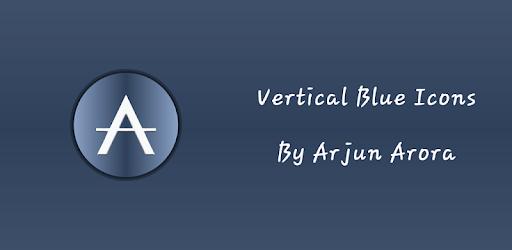 Vertical Blue Icons By Arjun Arora apk
