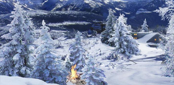 Winter Snow Live Wallpaper Pro apk