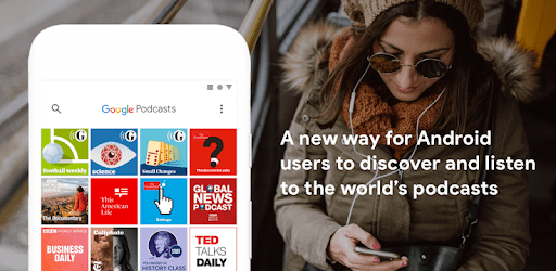 Google Podcasts: Discover free & trending podcasts apk