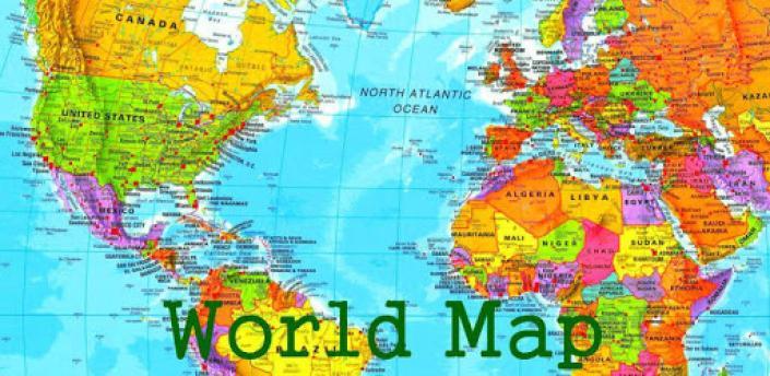 World Map Plus apk