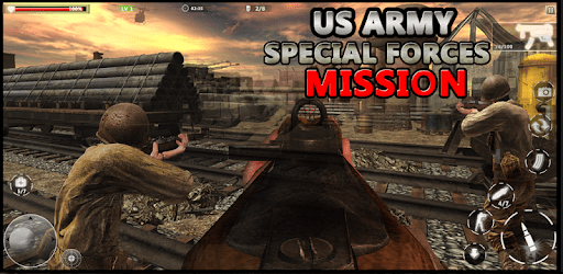 US Army Special Forces Commando World War Missions apk