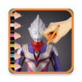 Draw Ultraman Icon