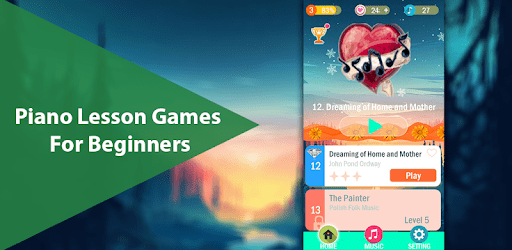 Piano Lesson Games For Beginners apk
