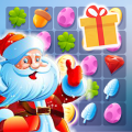 Sweet Santa Christmas Crush : Match 3 Puzzle Candy Icon