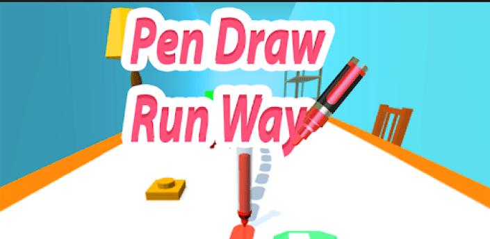 Pen Drawing - Run Way apk