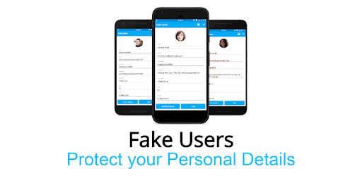 Fake Users - Easily Fill the Annoying Forms apk