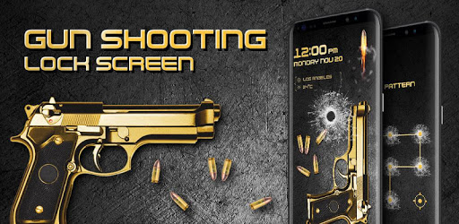 Gun shooting lock screen apk