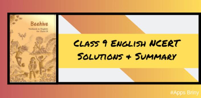 Class 9 English Beehive NCERT Solutions Offline apk