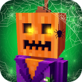 Scary Theme Park Craft: Ghost Roller Coaster Games Icon