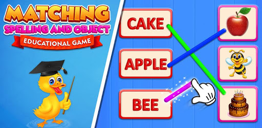 Matching Spelling And Object : Educational Game apk