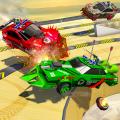 Demolition Car Crash Smash Derby Racing Ramp Stunt Icon