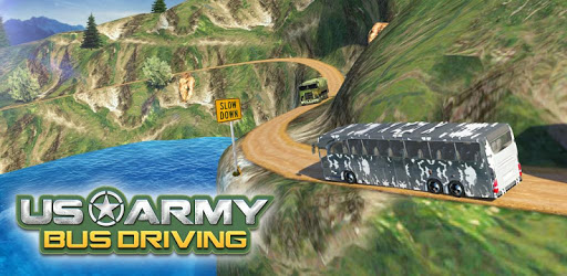 US Army Bus Driving apk