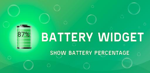 Battery Widget % Level Indicator Free apk