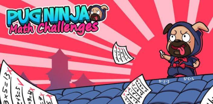 Math Games: Pug Ninja Maths Challenges apk