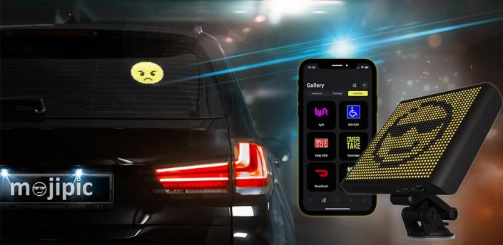 Mojipic - Wireless Emoji Display apk