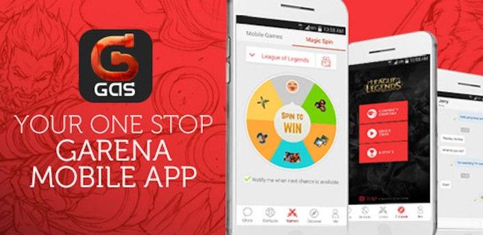 Garena Mobile (GAS Mobile) apk