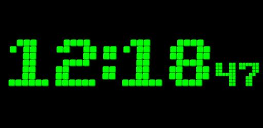 Animated Digital Clock-7 apk