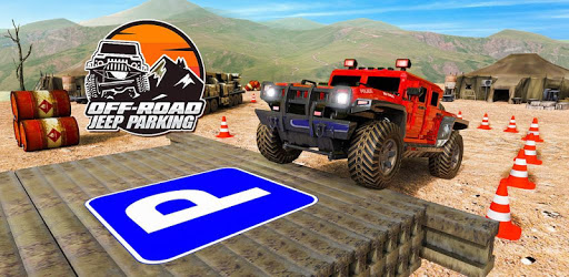 4x4 Offroad Jeep Driving Games & Parking Simulator apk