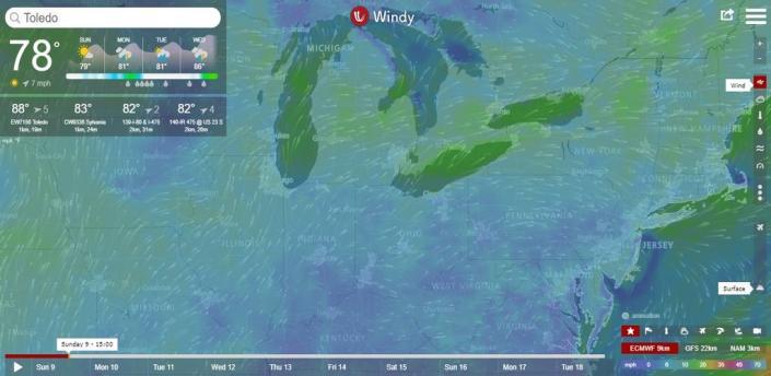 Windy.com - Weather Radar, Satellite and Forecast apk