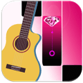 Pink Diamond Magic Tiles - Guitar Edition Icon