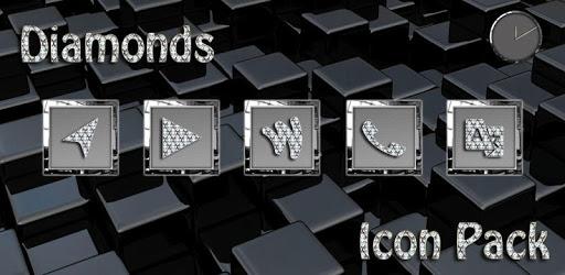 Diamonds Square Icon Pack apk