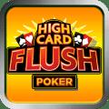 High Card Flush Poker Icon