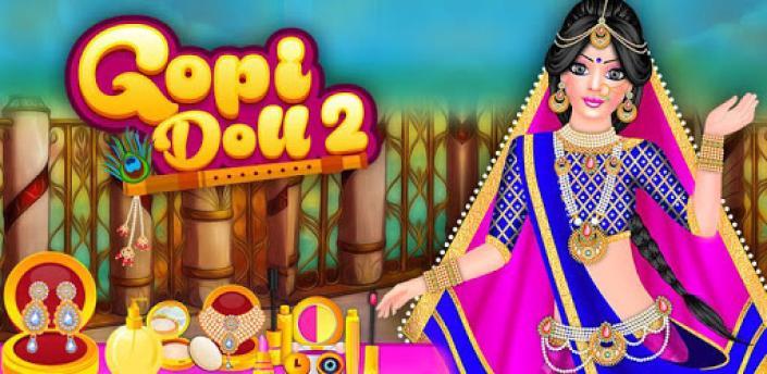 Gopi Doll Fashion Salon 2 - Dress Up Game apk