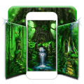 Shiny dream forest background Icon