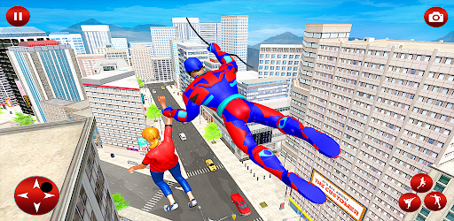 Flying Spider Robot Speed Hero-Gangster City Crime apk