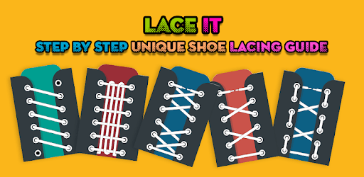 Lace It - Step By Step Unique Shoe Lacing Guide apk