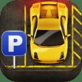 Cartoon Super Car Parking 3D Icon