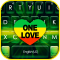 One Love Reggae Keyboard Theme Icon