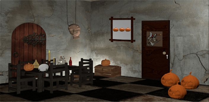 3D Escape Games-Halloween Castle apk