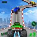 GT Mega Ramp Monster Truck Stunts Free Icon