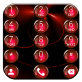 Theme for ExDialer Sphere Red Icon