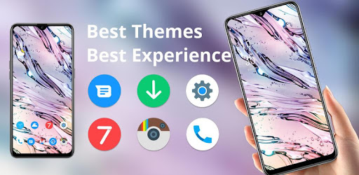 Abstract crystal water dew drop pure fresh theme apk
